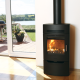 The Aduro 3 Black 5kw DEFRA approved with Drawer