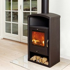 Asgard 3 modern 6kw wood burning stove