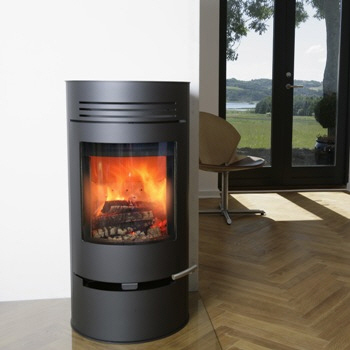 modern log burners