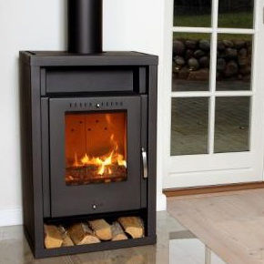 contemporary wood fires